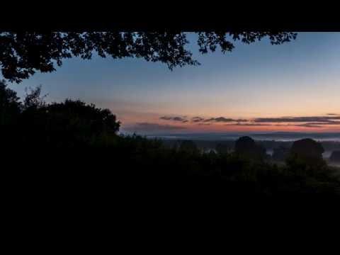 Sonnenaufgang am Telegraphenberg in der Wahner Heide