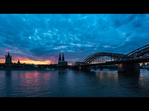 Timelapse Sunset in Cologne